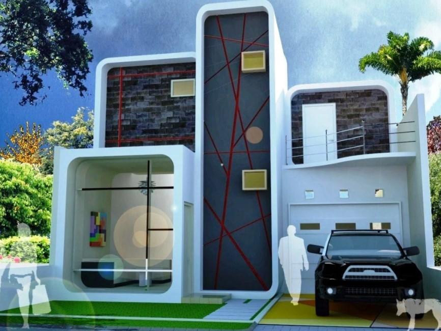 Contoh Desain Rumah Minimalis 2 Lantai Paling Lengkap