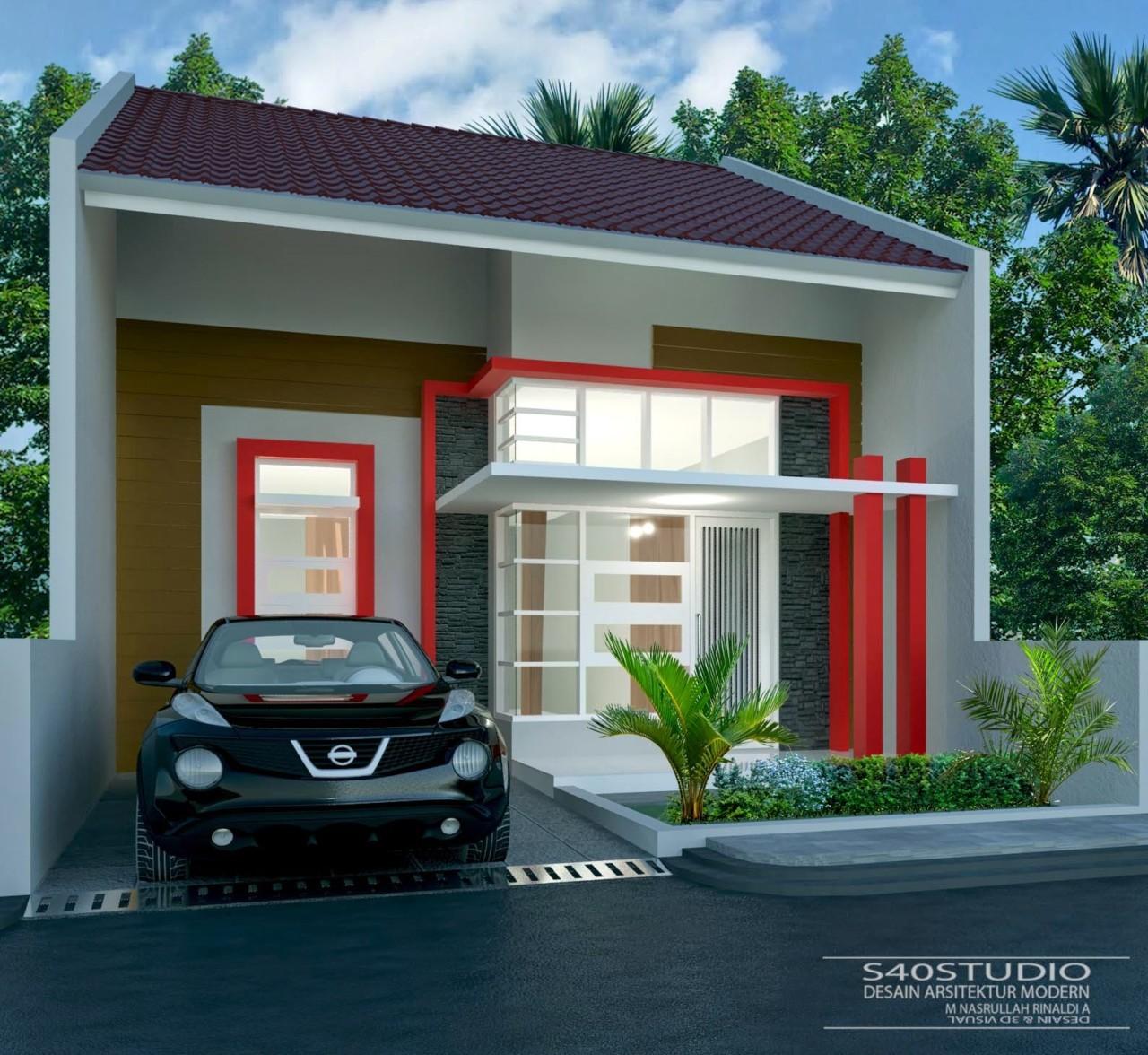 63 Desain Rumah Minimalis 7 X 15