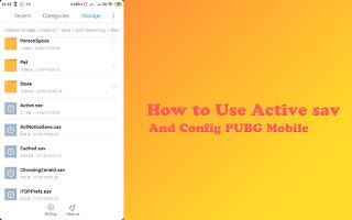 Cara Pasang Active Sav, Usercustom, Usersetting Dan Lain Sebagainya