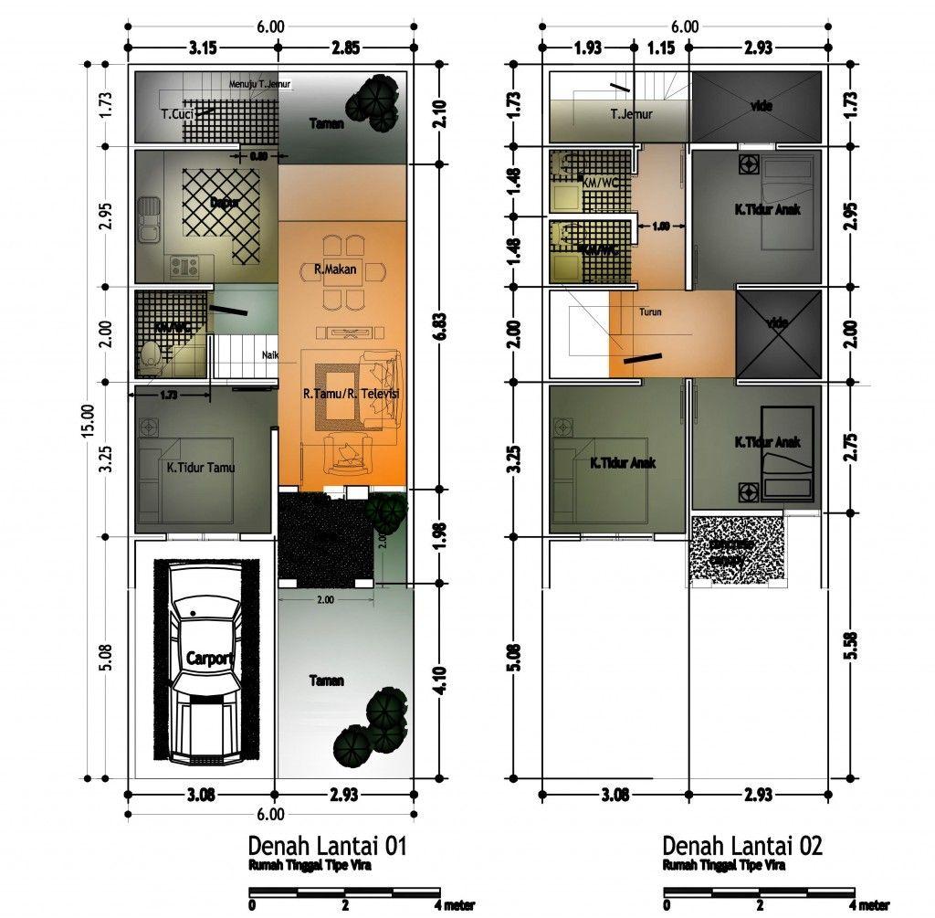 Sketsa Rumah Minimalis 2 Lantai Rumah Pinterest Architecture