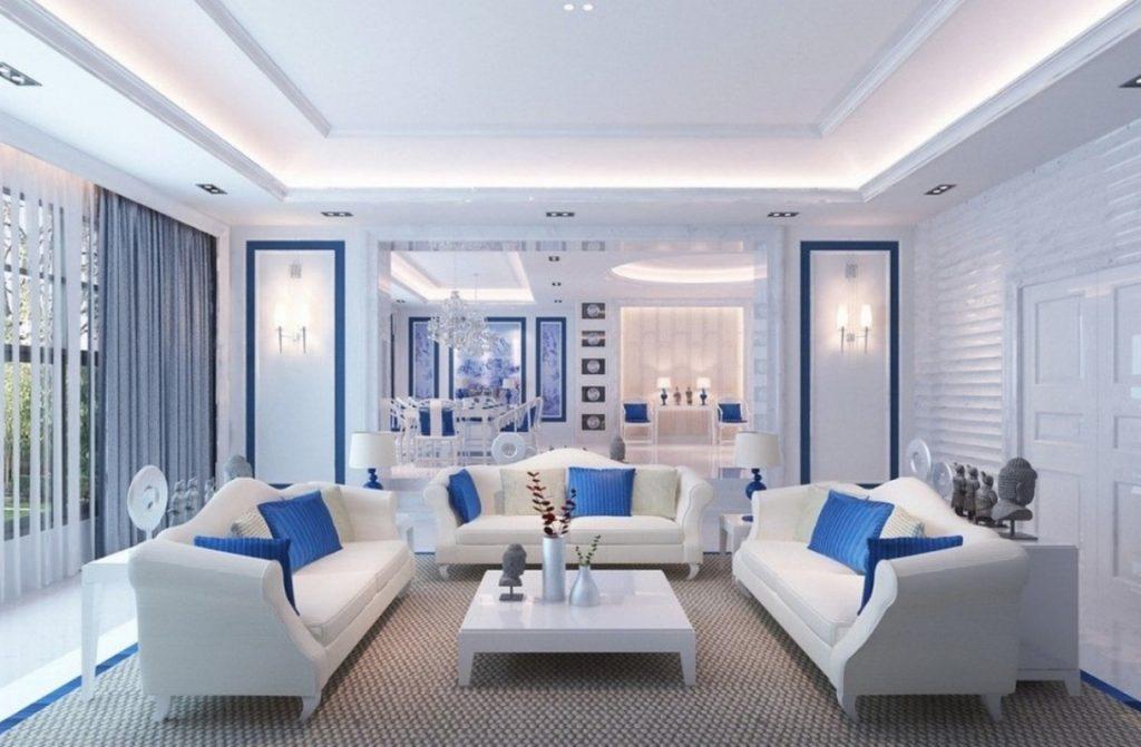 Desain Rumah 2016 Rumah Minimalis Cat Biru Images Warna Cat