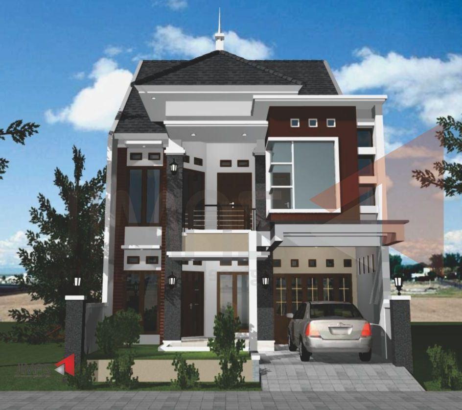 Contoh Desain Rumah 2 Lantai Yang Modern Renovasi Rumahnet