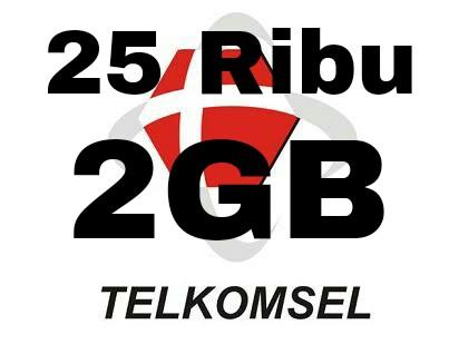 Paket Internet Murah 2018 25rb 2gb Telkomsel Terbaru