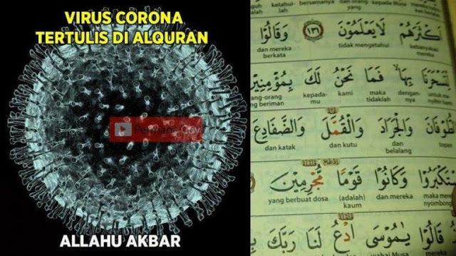 Benarkah Corona Tertulis Di Al-qur'an?