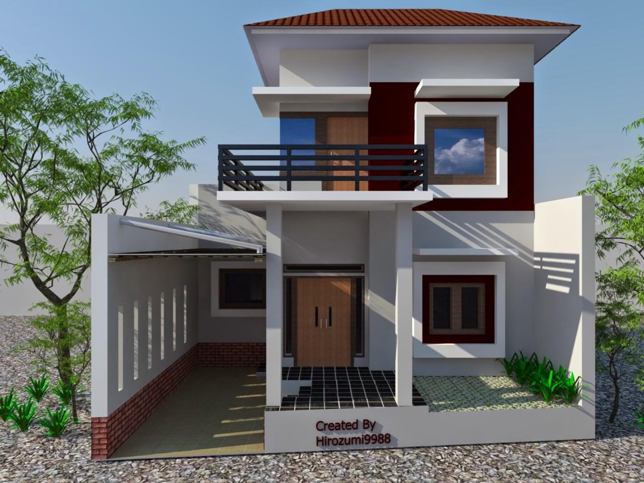 67 Desain Rumah Minimalis Ukuran 4x12 | Desain Rumah Minimalis Terbaru