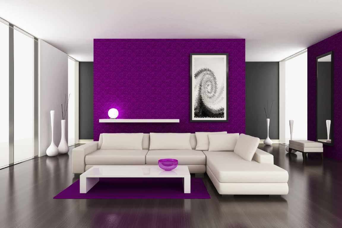 Genteng Atap Rumah Minimalis Interior Ruang Tamu Desain Warna