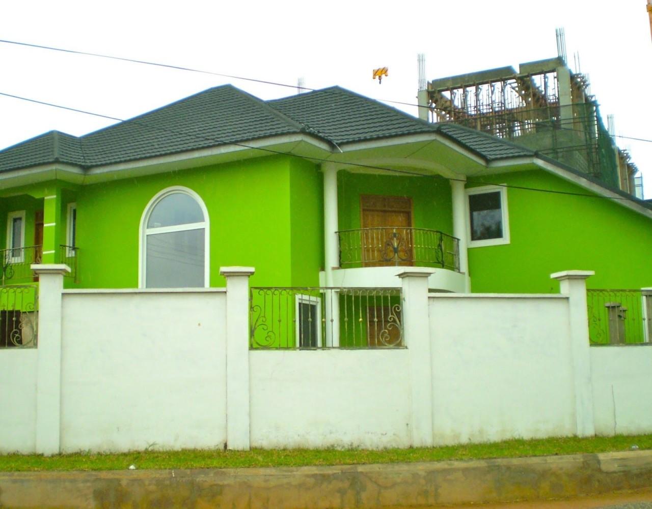 Warna Cat Rumah Ijo Stabilo