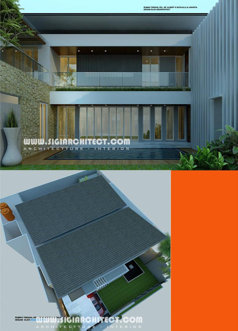 60 Desain Rumah Minimalis 2 Lantai Ada Kolam Renang Seon One Stop Solution