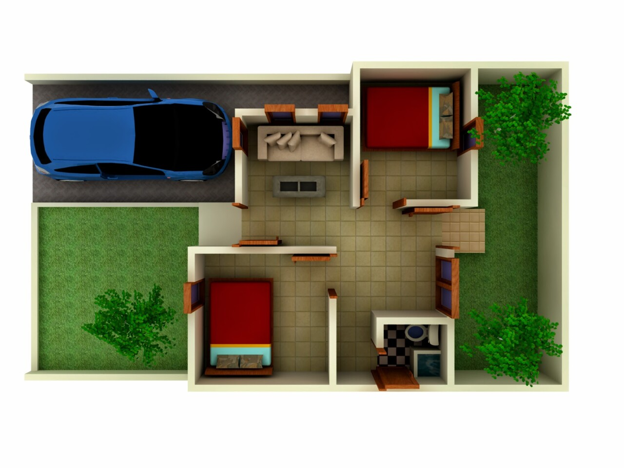 Interior Yang Sesuai Bagi Desain Rumah Minimalis Type 36