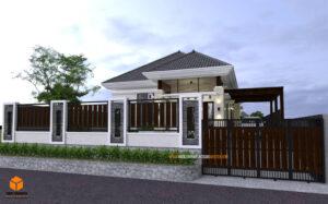 model pagar rumah minimalis ukuran 6 meter