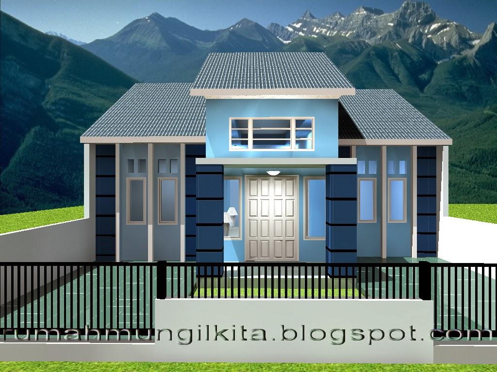 Desain Rumah Tipe 70 Tanah 121 M2 1 Lantai 4 Kamar Tidur 2