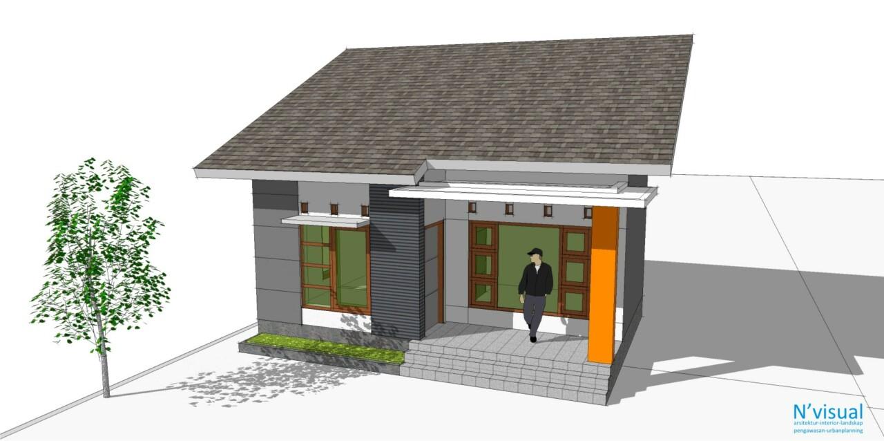 Rumah Sangat Sederhana Sketchs Blog