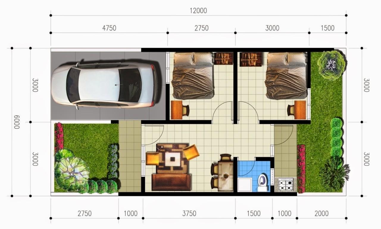 60 Desain Rumah Minimalis Type 72