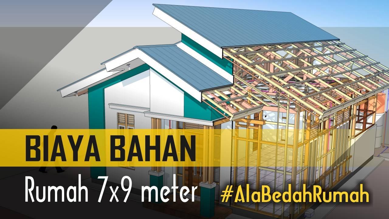 Hitung Biaya Materi Rumah 7x9 Meter Ala Bedah Rumah