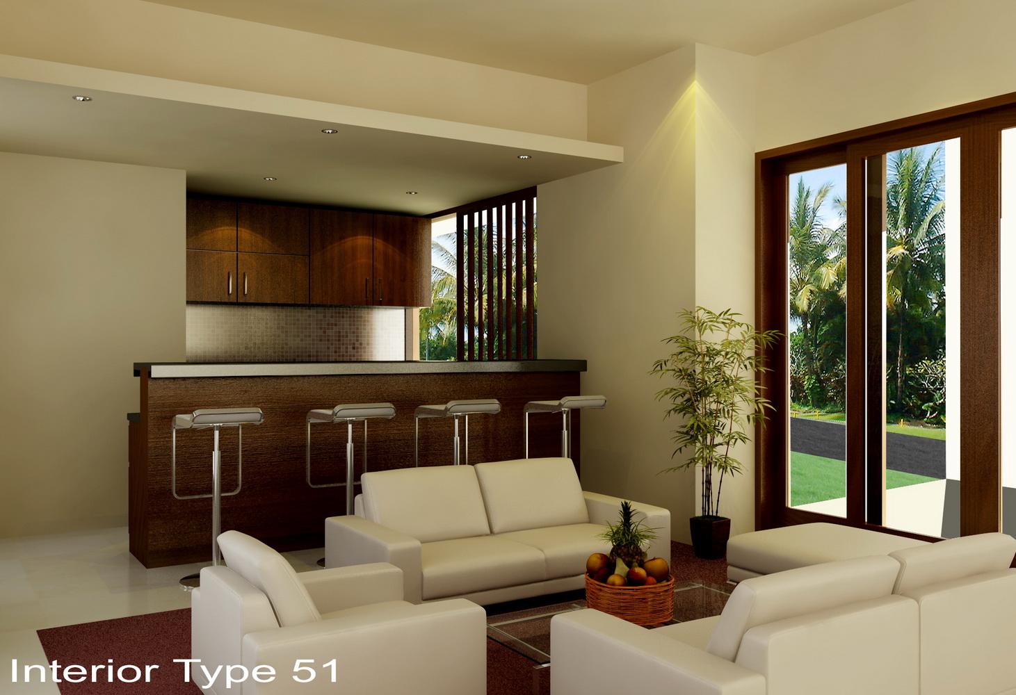 Desain Interior Rumah Minimalis Type 45 Model Rumah Minimalis