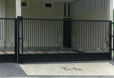 model pagar rumah minimalis terbaru 2020
