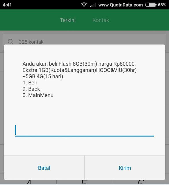 Paket Flash 8gb 80rb Telkomsel 2018 Terbaru