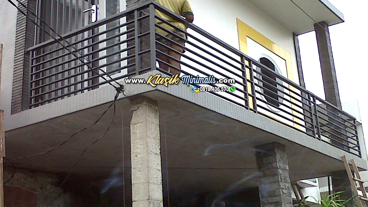 Model Pagar Balkon Minimalis Terbaru