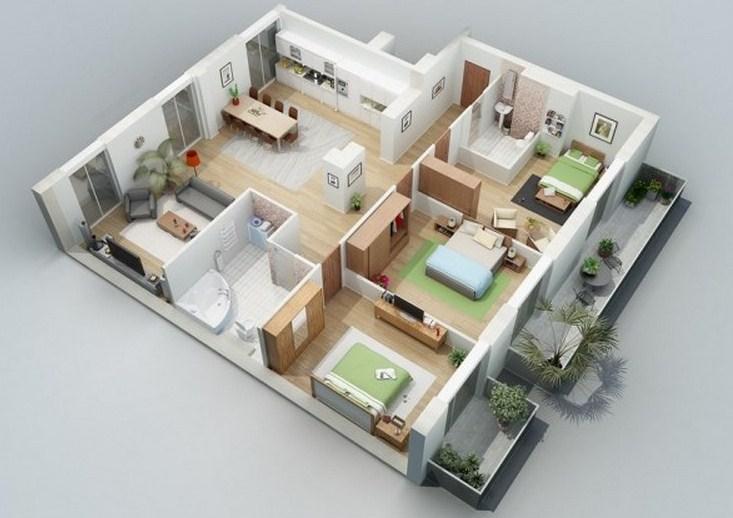 Menghitung Dengan Gampang Biaya Pembangunan Rumah 3 Kamar Tidur