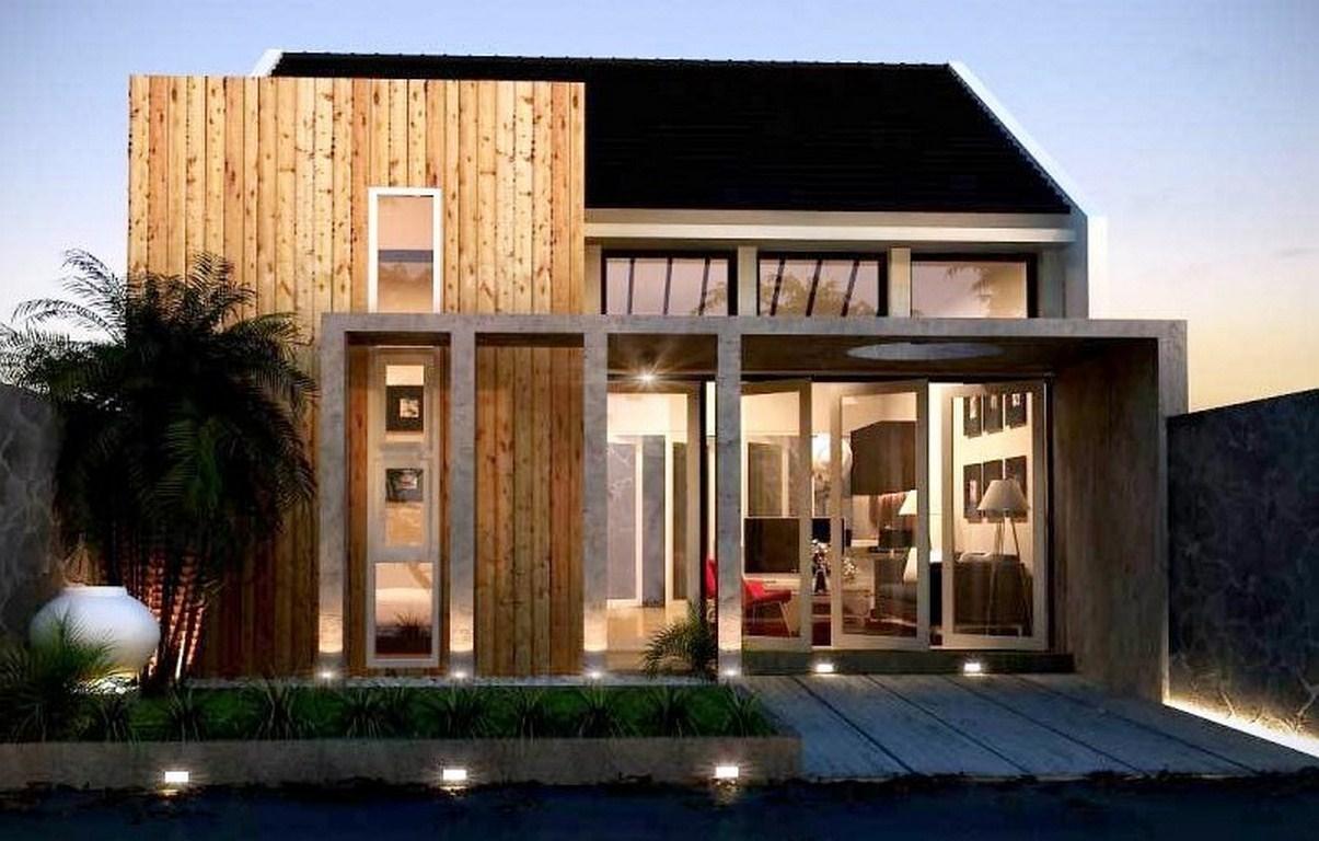 Home Design Interior Singapore Rumah 2 Lantai Atap Limas Desain