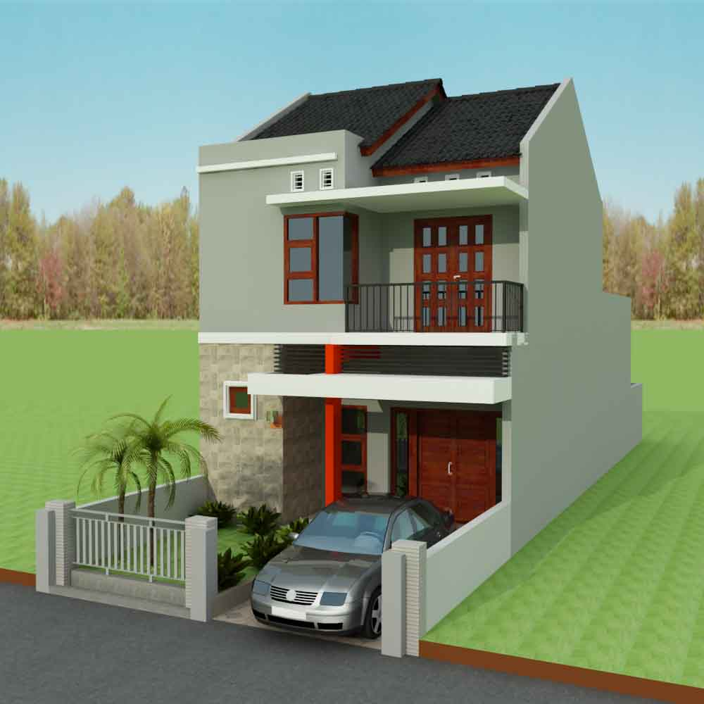 62 Desain Rumah Minimalis Modern 2 Lantai Lengkap Seon One Stop Solution