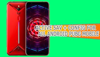 Config Dan Active Sav Nubia Red Magic Pubg Mobile Untuk All Android