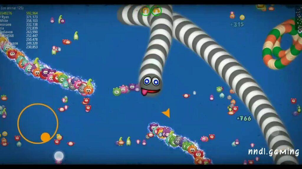 Cara Main Game Cacing Makan Buah, Game Worms Zone Yang Lagi Viral