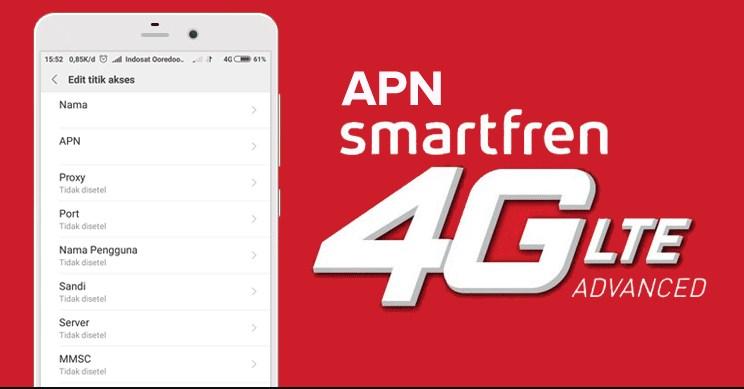 Cara Setting Apn Smartfren 4g