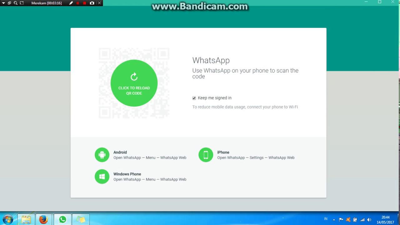 Cara Tepat Membuka Aplikasi Whatsapp Di Laptop