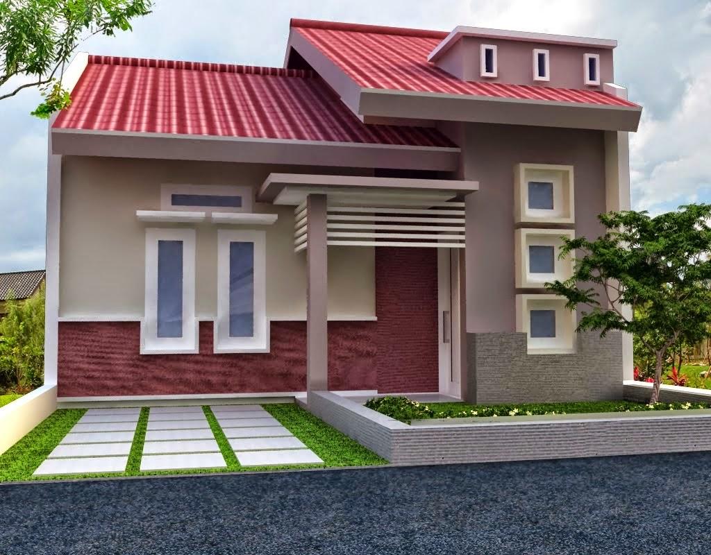 65 Desain Rumah Minimalis Warna Biru