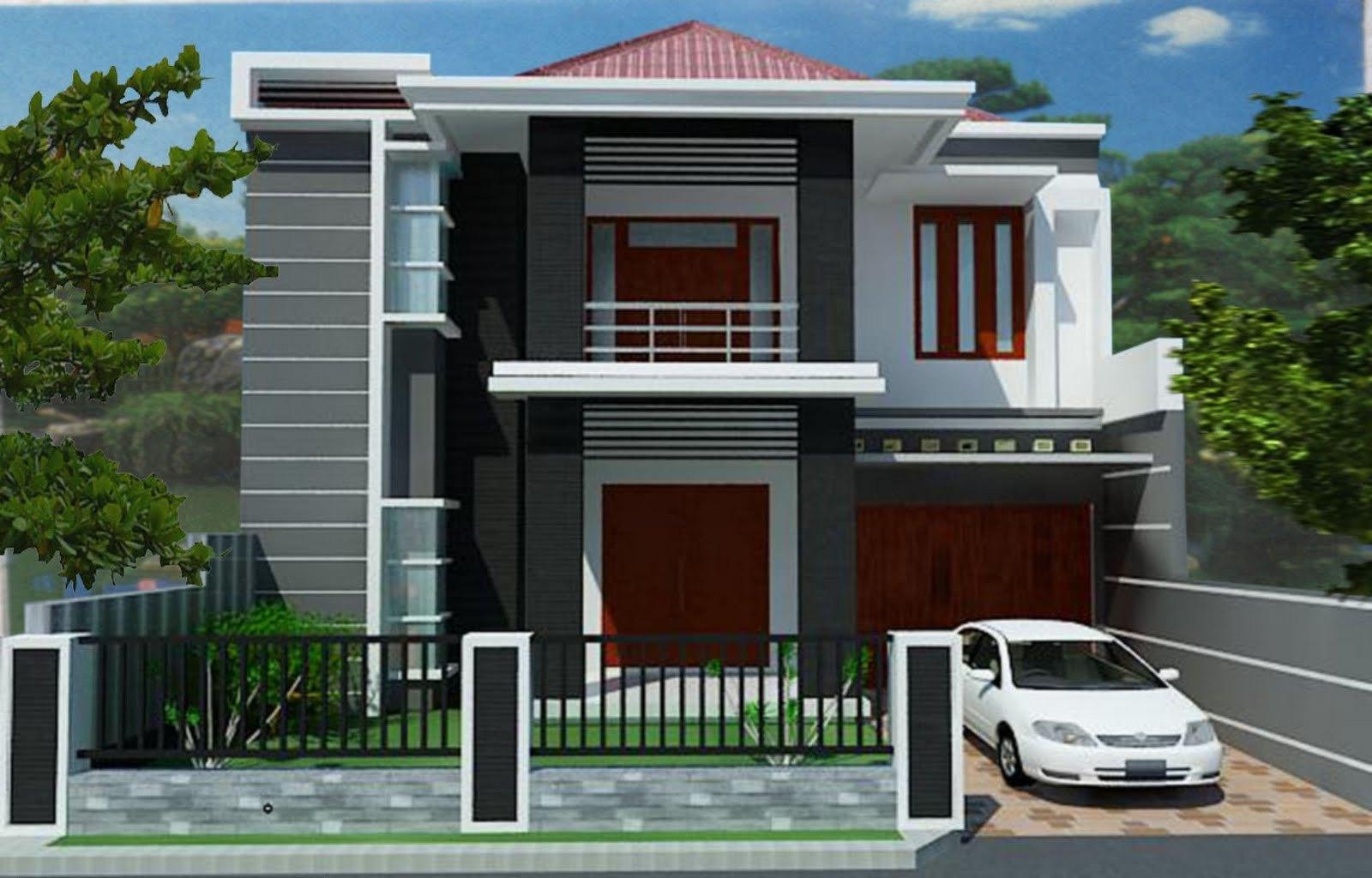 10 Desain Rumah Minimalis 2 Lantai Terbaik