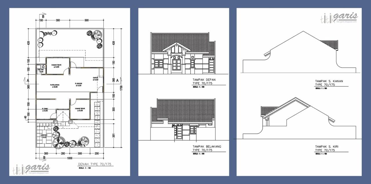 69 Desain Rumah Minimalis Dan Rab