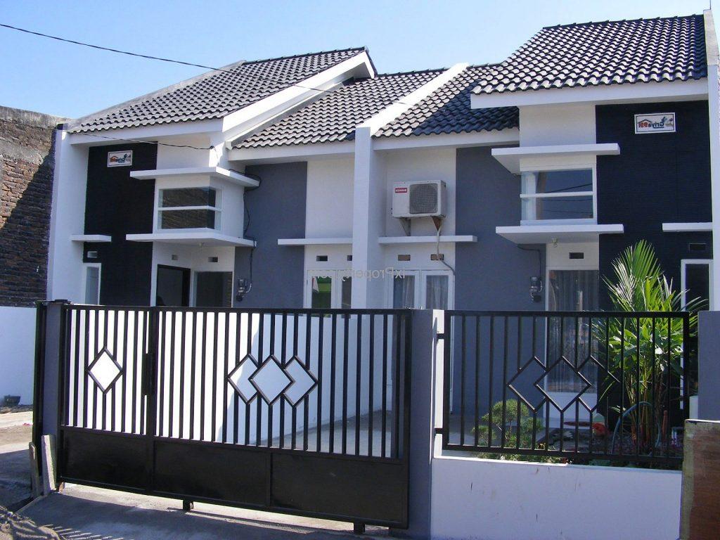 66 Desain Pagar Rumah Minimalis Warna Putih Desain Rumah Minimalis Terbaru