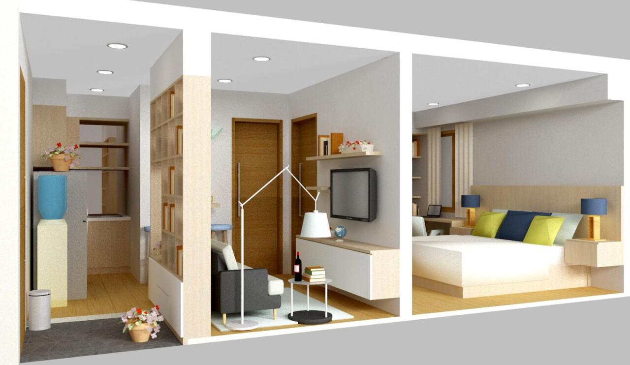 Contoh Gambar Desain Rumah Minimalis Type 45 1 Dan 2 Lantai Cocok
