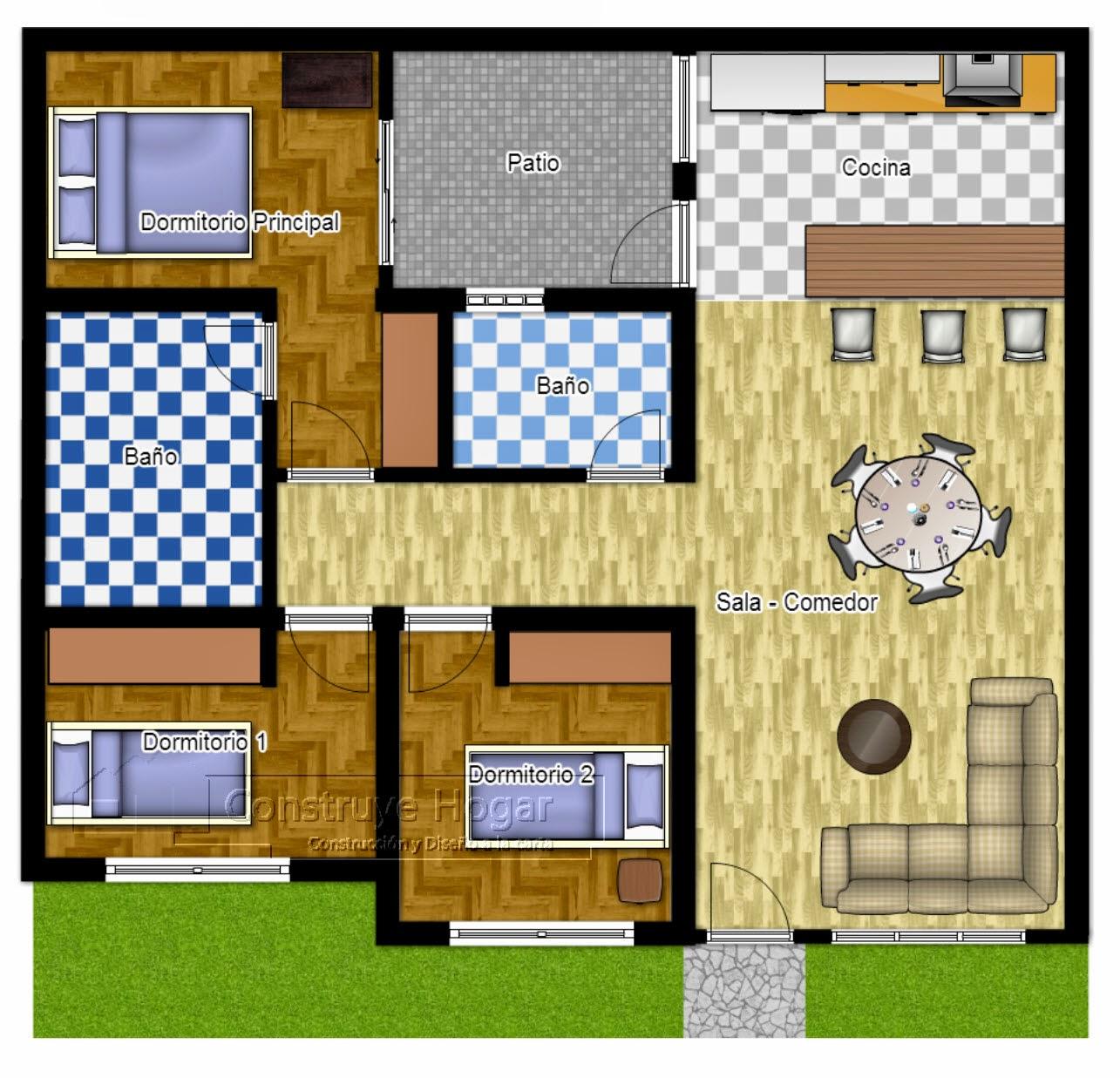 70 Desain Rumah Minimalis Ukuran 6x15 1 Lantai