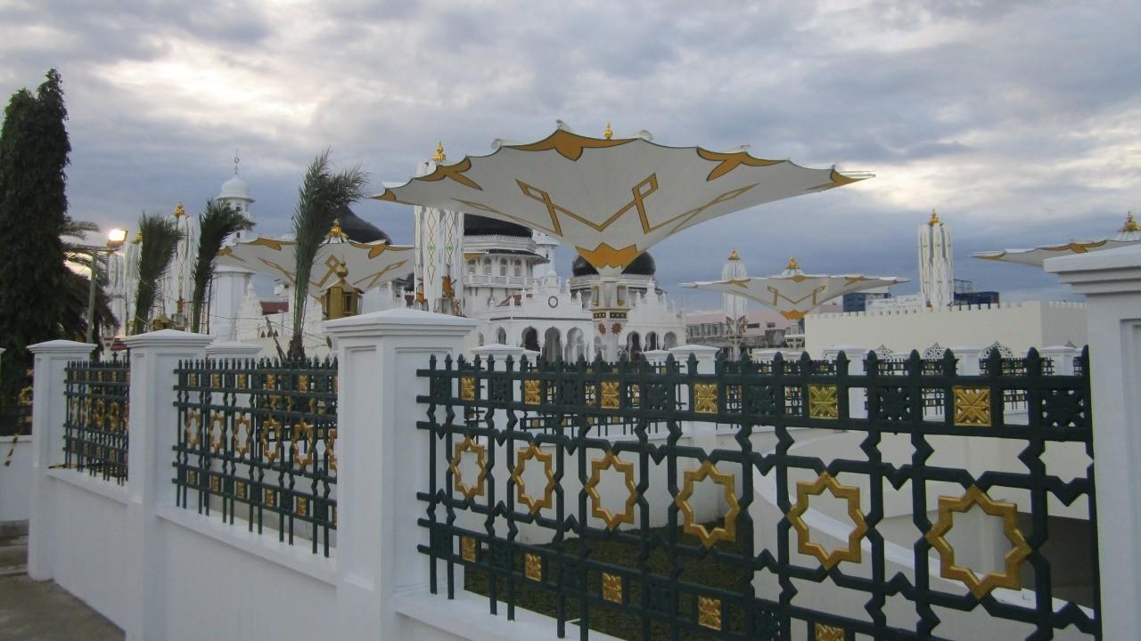Gambar Model Pagar Masjid Minimalis