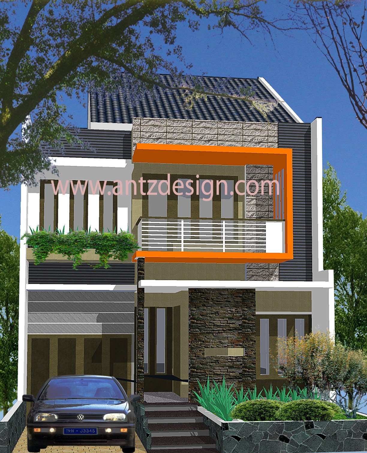 69 Desain Rumah Minimalis Type 21 | Desain Rumah Minimalis ...