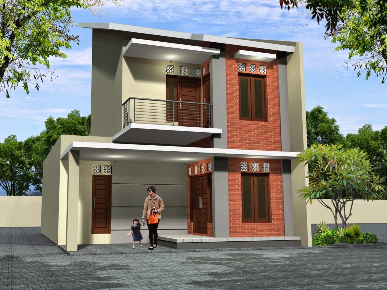 64 Desain Rumah Minimalis 2 Lantai Tanpa Atap Desain Rumah Minimalis Terbaru