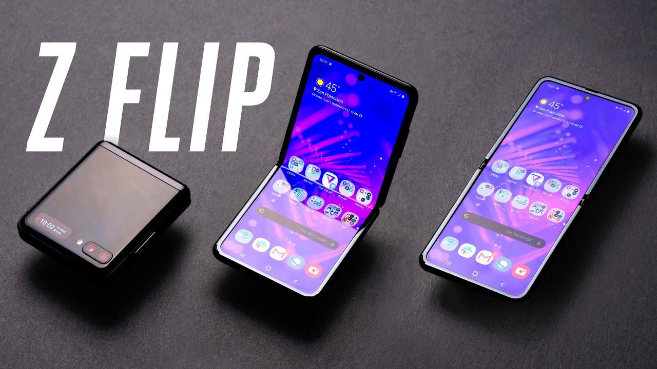 Samsung Galaxy Z Flip, Smartphone Unik Harga Selangit