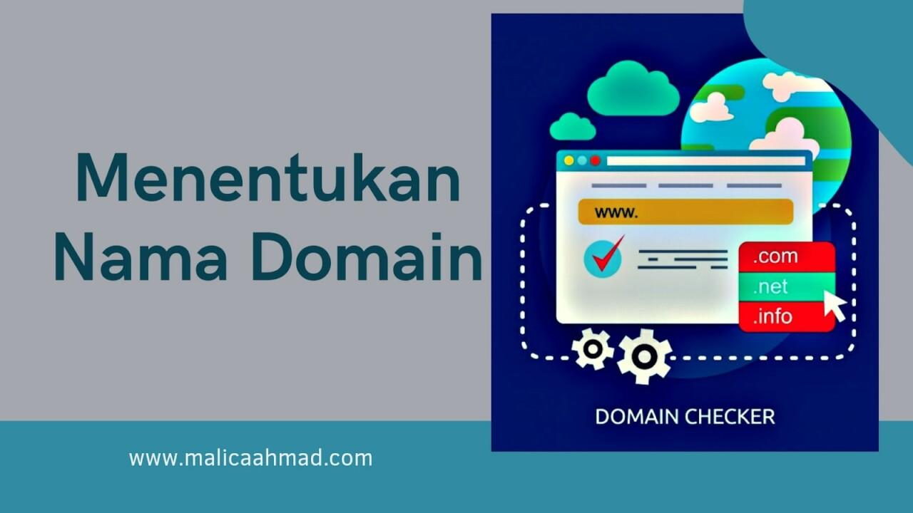 Tips Menentukan Nama Domain