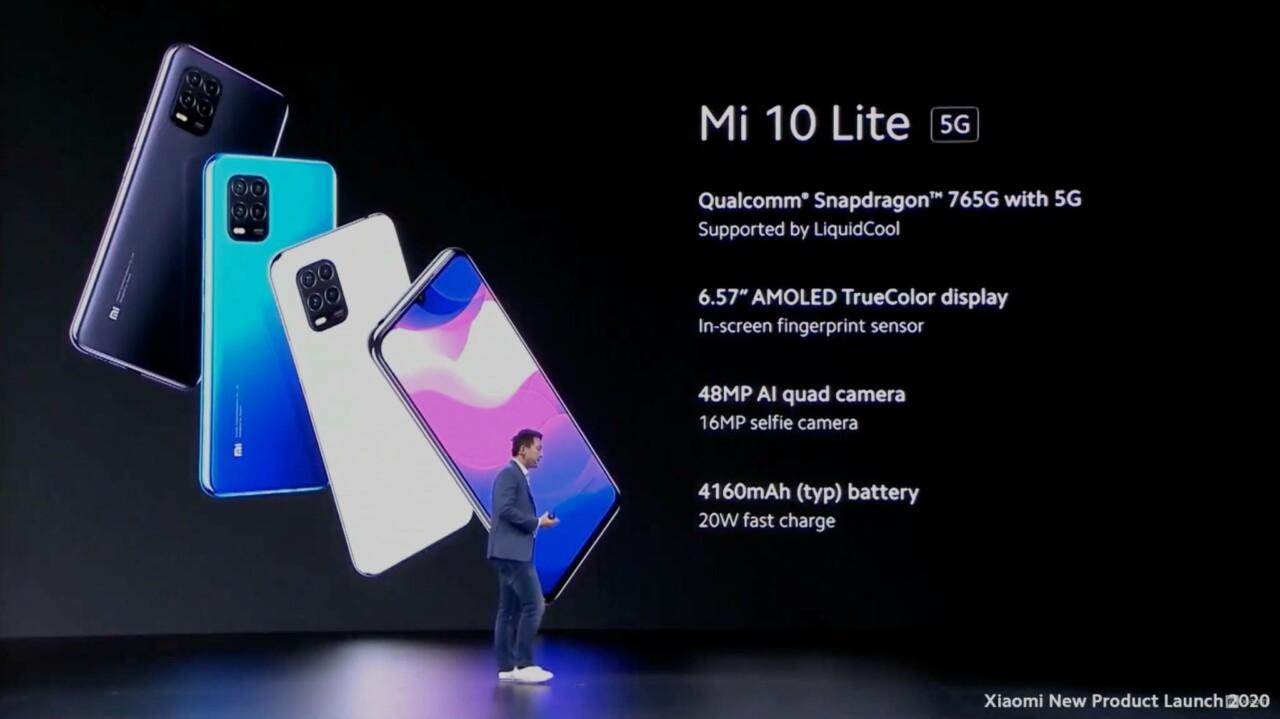 Spesifikasi Dan Harga Xiaomi Mi 10 Lite 5g