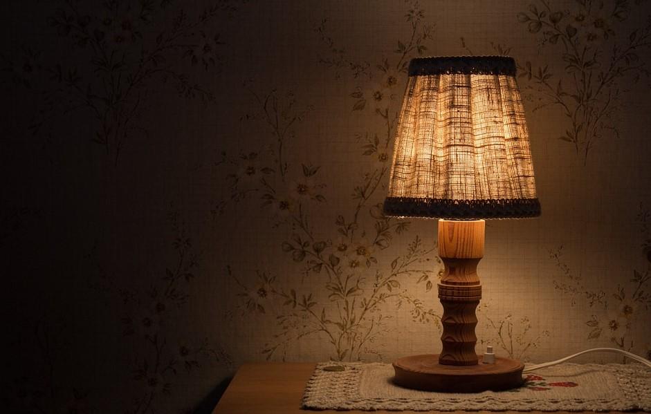 Cahaya Lampu Kamar